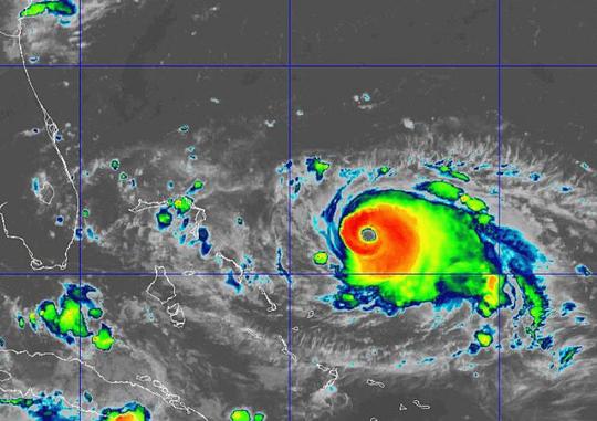 Hurricane Dorian 11 a.m. Aug. 31, 2019
