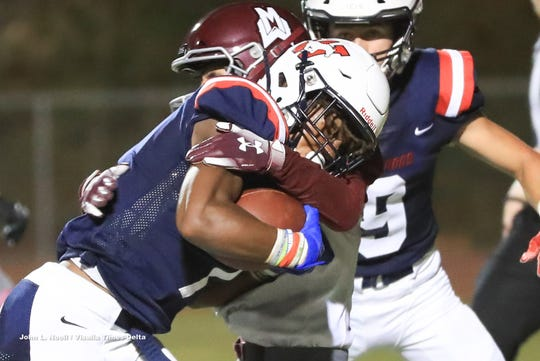 Tulare Western hosts Mt Whitney in a non-league High School Football game at Bob Mathias Stadium  in Tulare on Friday, August 30, 2019.
