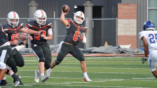 Burkburnett quarterback Mason Duke makes the Bulldogs a playoff contender in District 4-4A Division I.
