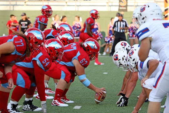Hirschi's offense and Graham's defense line up Friday, Aug. 30, 2019, at Memorial Stadium.
