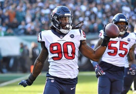 Outside linebacker Jadeveon Clowney will be leaving Houston for Seattle.