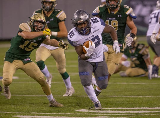 Mater Dei Prep, with senior running back Malik Ingram, as one of its best players, begins the season ranked No. 1 in the Asbury Park Press Shore Conference Top 10.