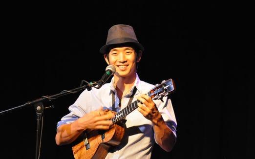 Jake Shimabukuro and his ukulele return to the Admiral stage Oct. 13.