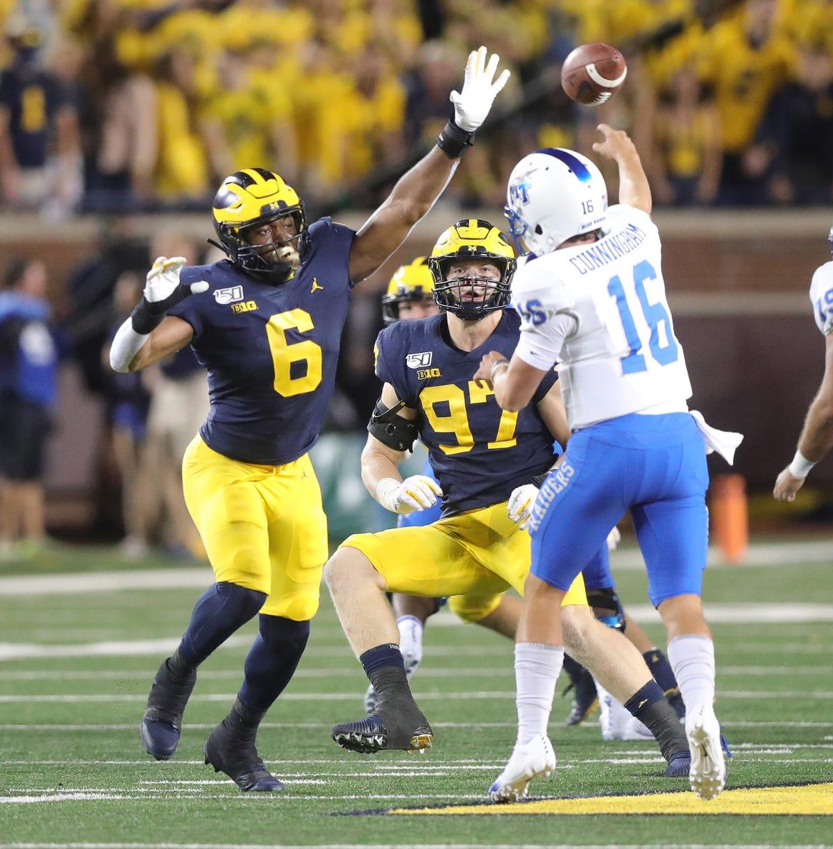 Michigan football: Pass rush package looks promising on defense