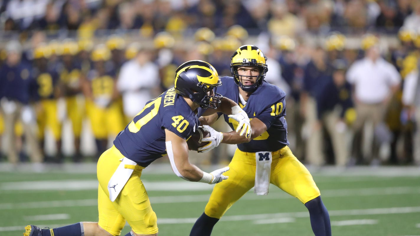 Michigan football Citrus Bowl practice features a couple of positional twists