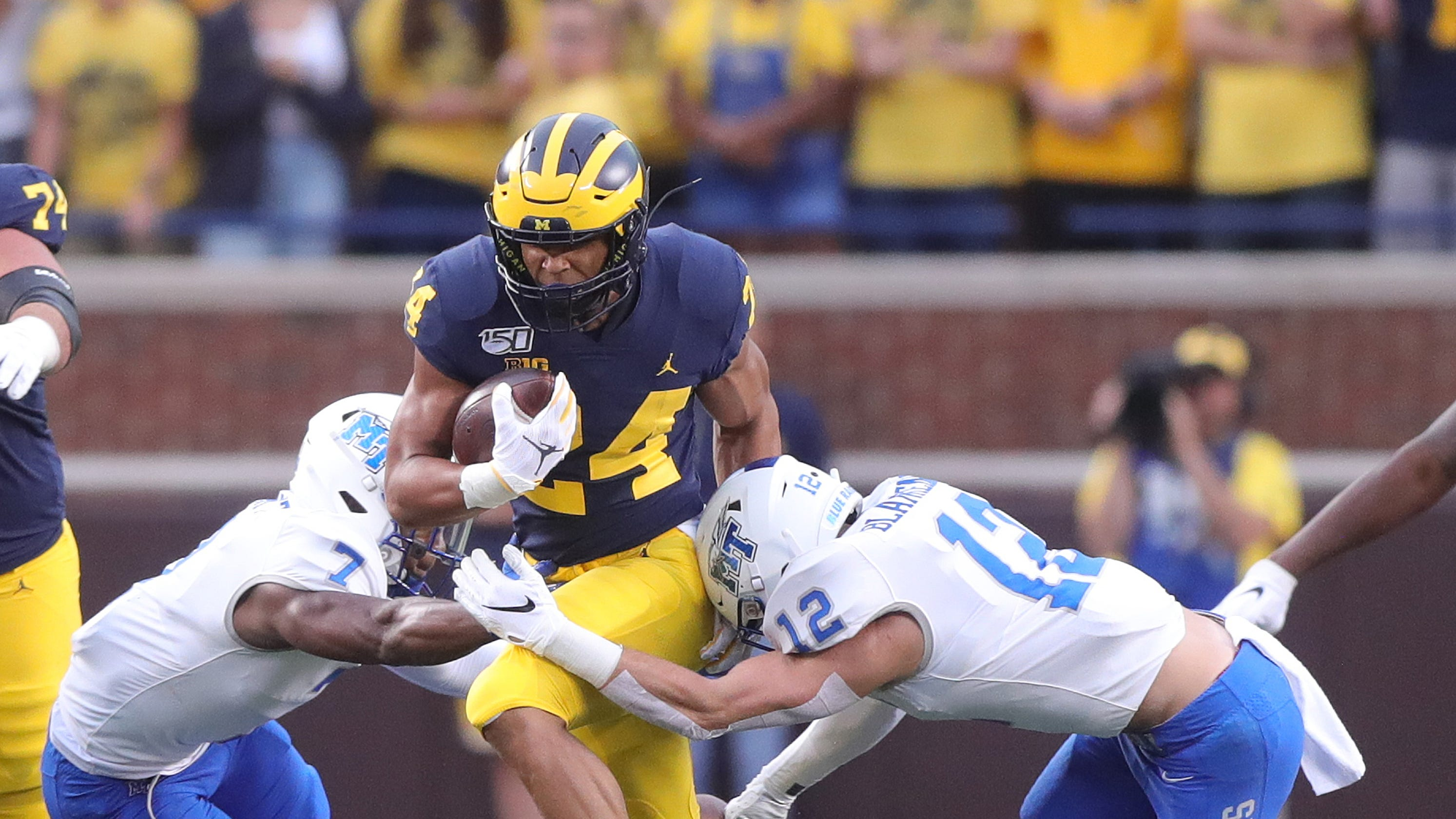 Michigan's Zach Charbonnet was groomed to be college star ...
