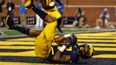 University of Michigan Wolverines Football & Basketball