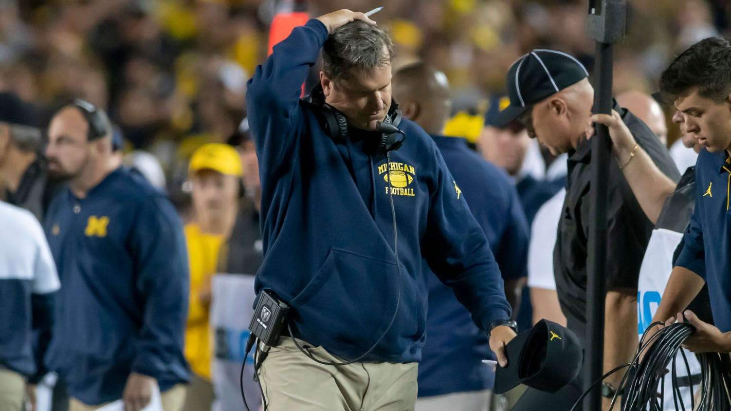 Spielman decries state of UM: 'Harbaugh seems out of touch'