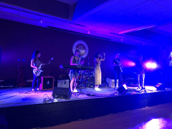 Live in the Union Ballrooms: FSU student Sofia Camille and her band