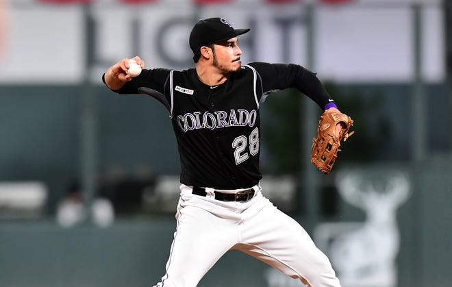 The Colorado Rockies play at the Dodgers Monday.