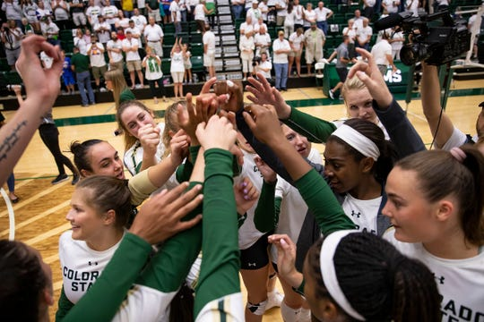 The Colorado State volleyball team will play South Carolina in Seattle in the first round of the NCAA tournament.
