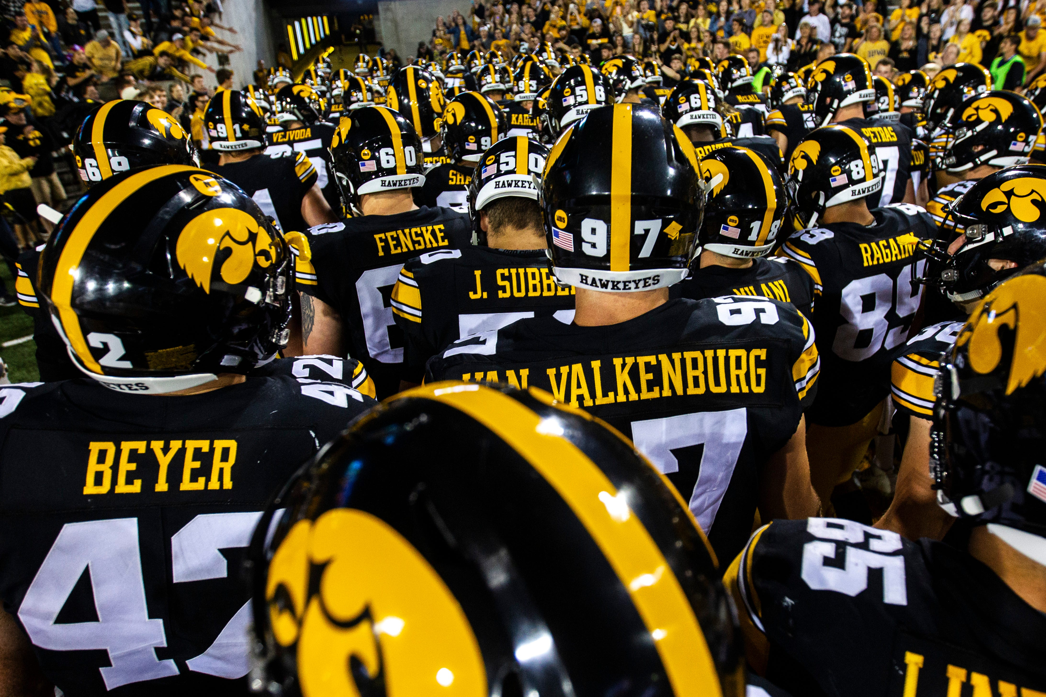 Iowa football parents seek answers and restoration of fall football in letter to Big Ten