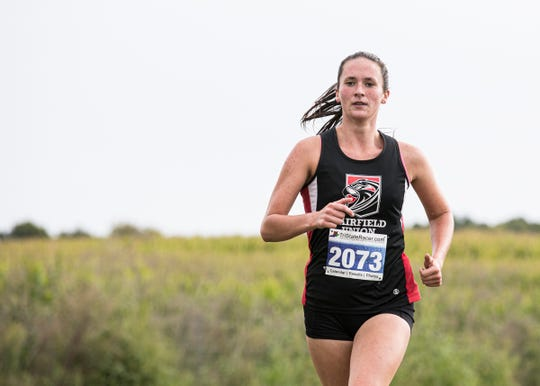 Fairfield junior Madison Eyman was the Mid-State League-Buckeye Division Runner of the Year.