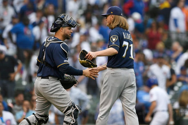 Brewers closer Josh Hader recorded 37 saves last season in 61 appearances with a 2.62 ERA.