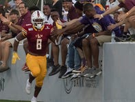 After waiting his turn, Johnson runs wild in ULM opener