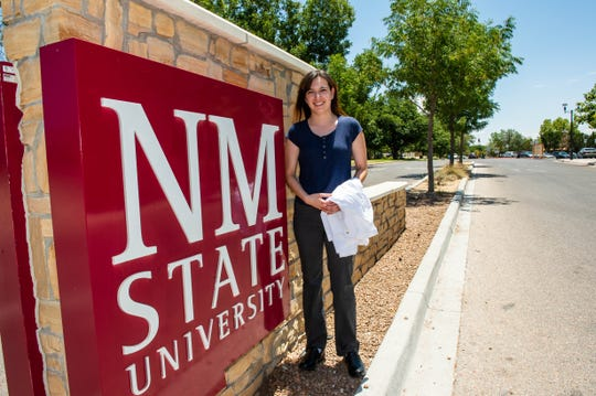 Angelica Ruby Garcia, a graduate of New Mexico State University, is now entering medical school at the University of New Mexico.