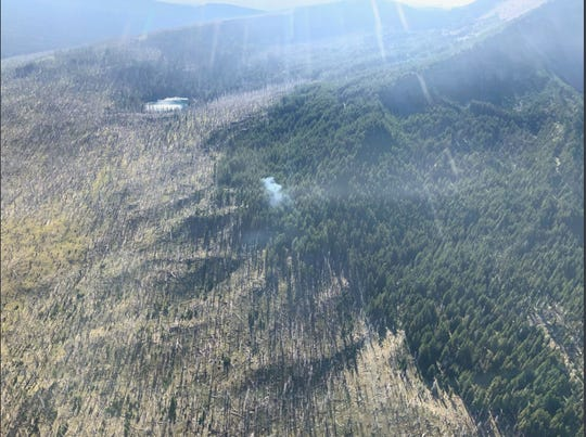 The Pacific Fire is being allowed to burn in the Mount Washington Wilderness to reduce fuels.