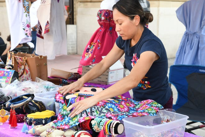 Crafts people and artisans from across the state stormed downtown Visalia on Aug. 31 for the Summer Shenanigans Craft Fair. Hundreds braved sweltering heat to load up on unique macramé, essential oils and succulents as Church Street came to resemble a living Etsy page.