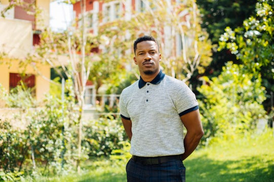 Director Nate Parker poses for portraits for the film 'American Skin' at the 76th edition of the Venice Film Festival in Venice, Italy, Sunday, Sept. 1, 2019.