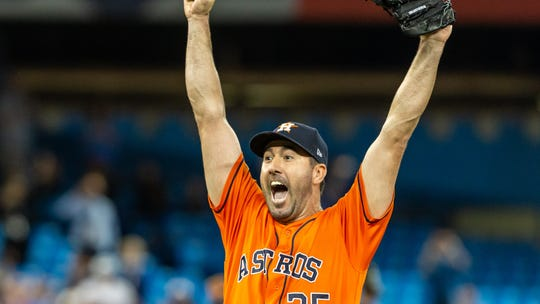 In era of analytics, Astros aces Justin Verlander and Gerrit Cole are keeping it old-school