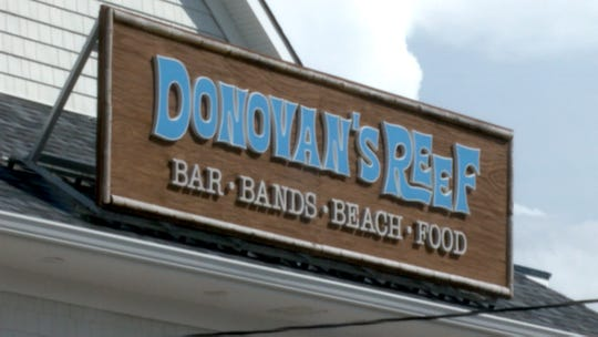 Exterior of Donovan's Reef in Sea Bright Monday afternoon, Sept. 2, 2019. A South Plainfield man was charged with leaving a suspicious package with a destructive device at the bar Sunday.