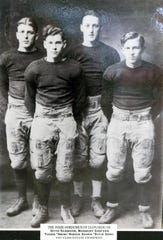 """Tucker """"""""Swede'' Hanson, who was a star athlete at Leonardo High School in the mid-1920s before starring at Temple and with the Philadelphia Eagles."""
