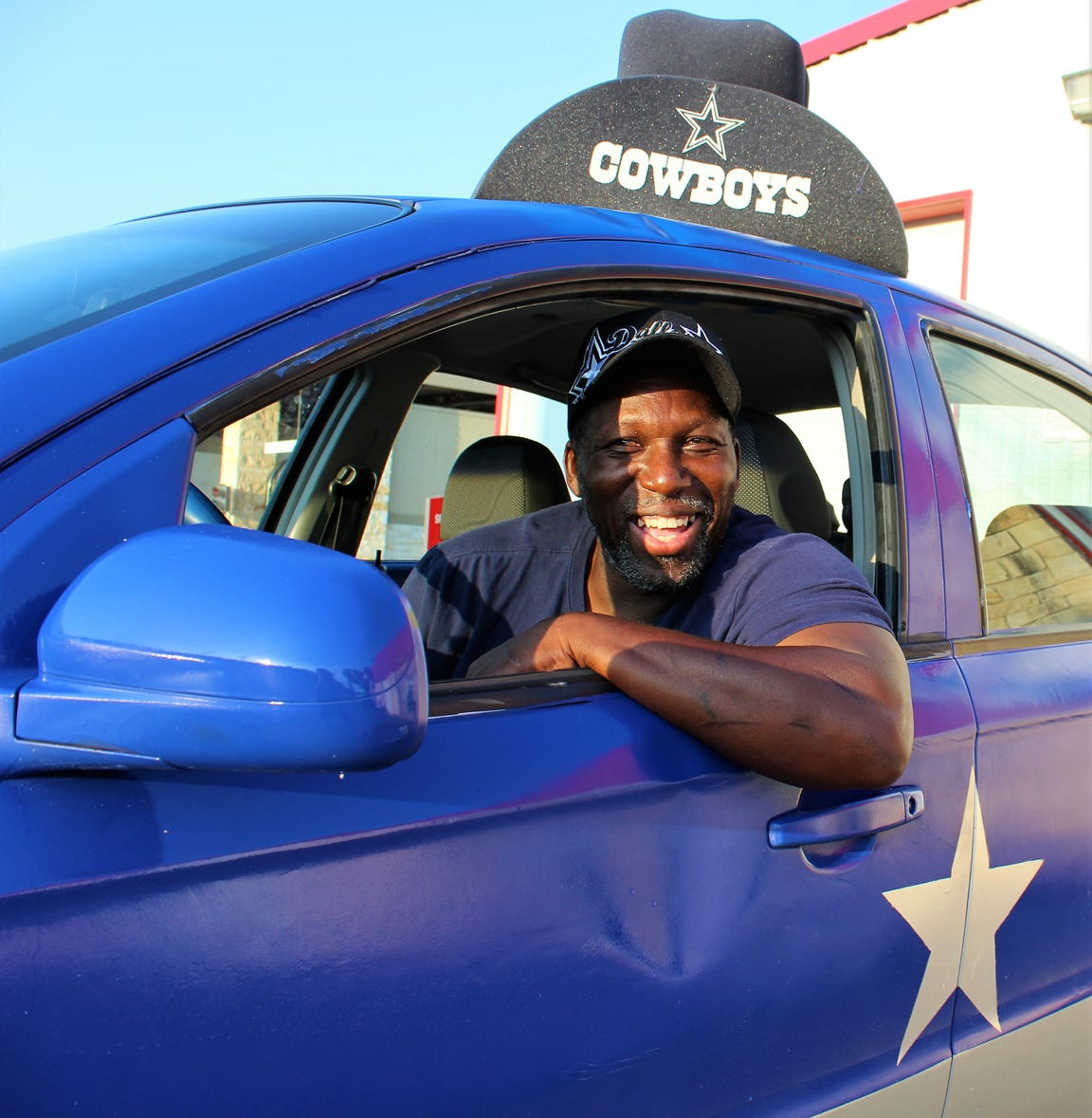 Frank Early will have his Star Car fueled and ready for a road trip to see his favorite team, the Dallas Cowboys, host the Green Bay Packers this season.
