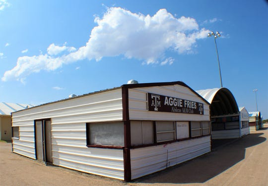 Since 1952, local Aggies have sold french fries at the West Texas Fair & Rodeo, using proceeds for projects such as scholarships.
