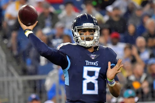 17. Titans – Marcus Mariota might be on his last legs in Tennessee.