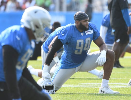 The Lions placed defensive end Austin Bryant on injured reserve on Monday.