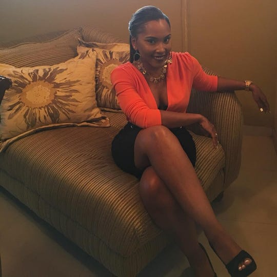 Brandisha Adderley, 29, lives in the town of Spring City in the Abaco Islands in the Bahamas and survived Category 5 Hurricane Dorian.