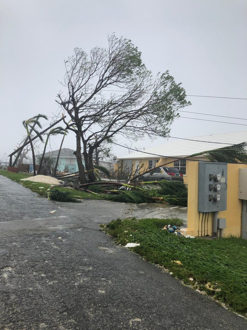 View images from the Spring City, a town located in the Abaco Islands in the Bahamas. Spring City, located five miles south of Marsh Harbor Airport, was flattened by Hurricane Dorian on Sunday and Monday. These photos were taken by Spring City resident Brandisha Adderley, who lives in Spring City with her grandmother Monica Adderley.