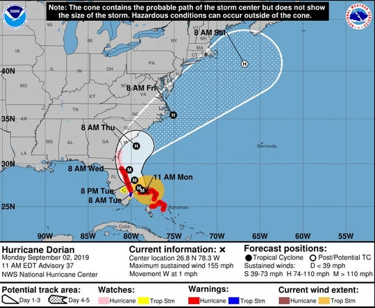 The chance of hurricane-force winds and life-threatening storm surges along SC's coast are increasing.