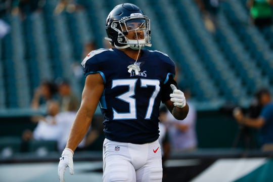 Amani Hooker had a nice preseason and should be ready to roll inside the Titans' defense.
