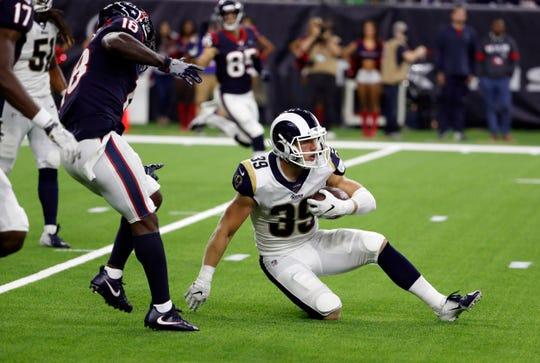 A decent preseason landed Jake Gervase on the Rams' practice squad.
