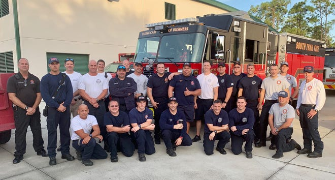Members of the San Carlos Park Fire District and other area fire districts are traveling to the east coast of Florida as members of the USAR Task Force 6 to assist with any Hurricane Dorian recover efforts. The crew is staging in Miami and deploying as needed from there.
