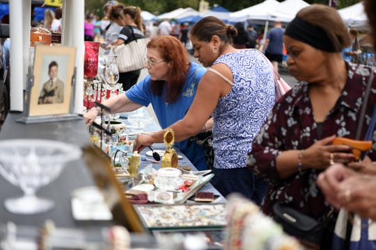 The 44th Annual Rutherford Labor Day Street Fair was held along Park Avenue on September 2, 2019.