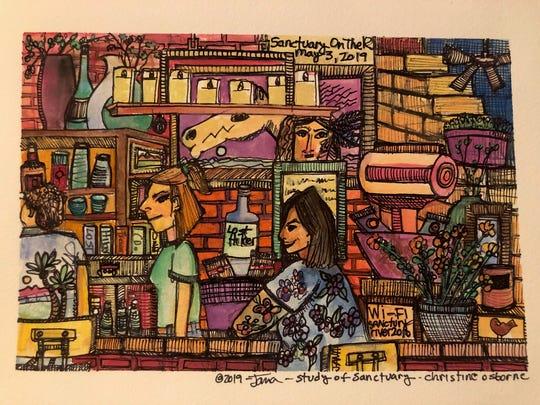 Artist Jana Lynch is beginning a four-week art class Sept. 17 and invites participation.