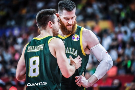 Aron Baynes and Matthew Dellavedova are part of the Australian national team that can challenge Team USA in this year's FIBA World Cup