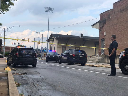 York City Police and Pennsylvania State Police were at the scene of an officer-involved shooting Monday, Sept. 2, near the intersection of North Duke and East North streets in York City. Police were responding to a reported trespasser when the shooting occurred.