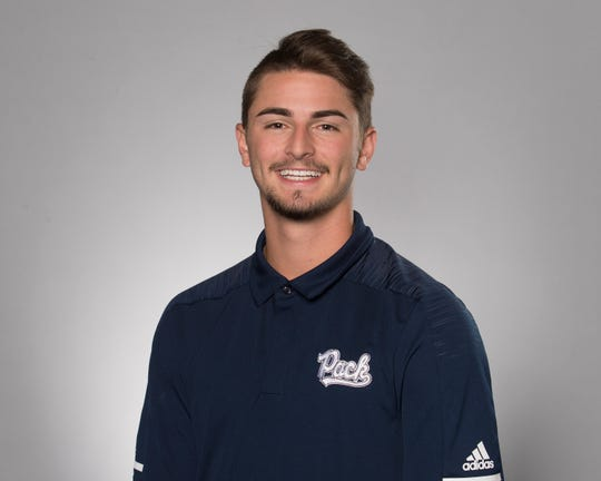 Nevada freshman kicker Brandon Talton