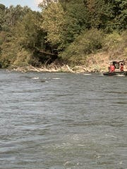 The search for a Vancouver, Washington, woman was called off Sunday night due to hazardous conditions on the Willamette River where she disappeared after hitting a large snag while floating with friends.