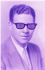 """The image for """"Purple Willie Jams,"""" is of LeMoine C """"Willie"""" Wheeler (minus the sunglasses), as student at the University of Pennsylvania. He was the father of event organizer David Wheeler, who began thisas a tribute to his dad ."""