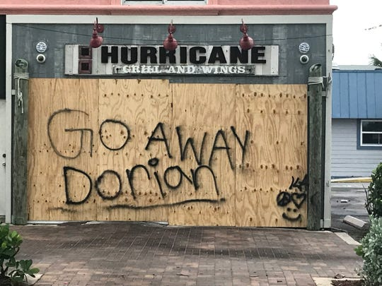 Hurricane Grill & Wings in Fort Pierce has a message for Hurricane Dorian.