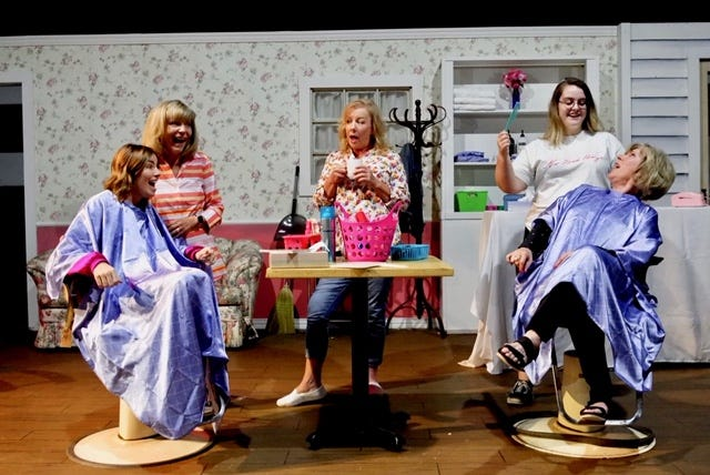 """""""Steel Magnolias"""" opens at 7 p.m. tonight and Saturday, and Fridays and Saturdays through October 5 at  Wichita Theatre Stage 2 and will feature a performance by native Wichita Susan Mansur as Clairee. Mansur originally played Truvy for two years in the late 1980's Off Broadway production of the classic play. Doors open at 6:30 p.m."""