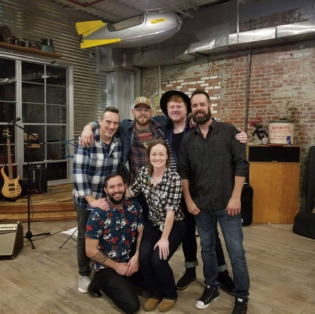 Red Brick Trolley will play its first headline show at 9 p.m. tonight at Iron Horse Pub. The group made its name playing After Hours Artwalks beginning in 2018