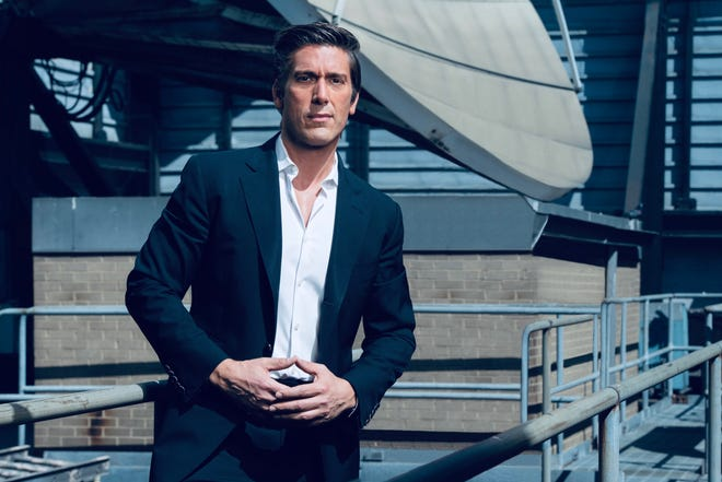 "David Muir began an internship at his local TV station at age 14. He just celebrated his fifth anniversary with ABC's ""World News Tonight."""