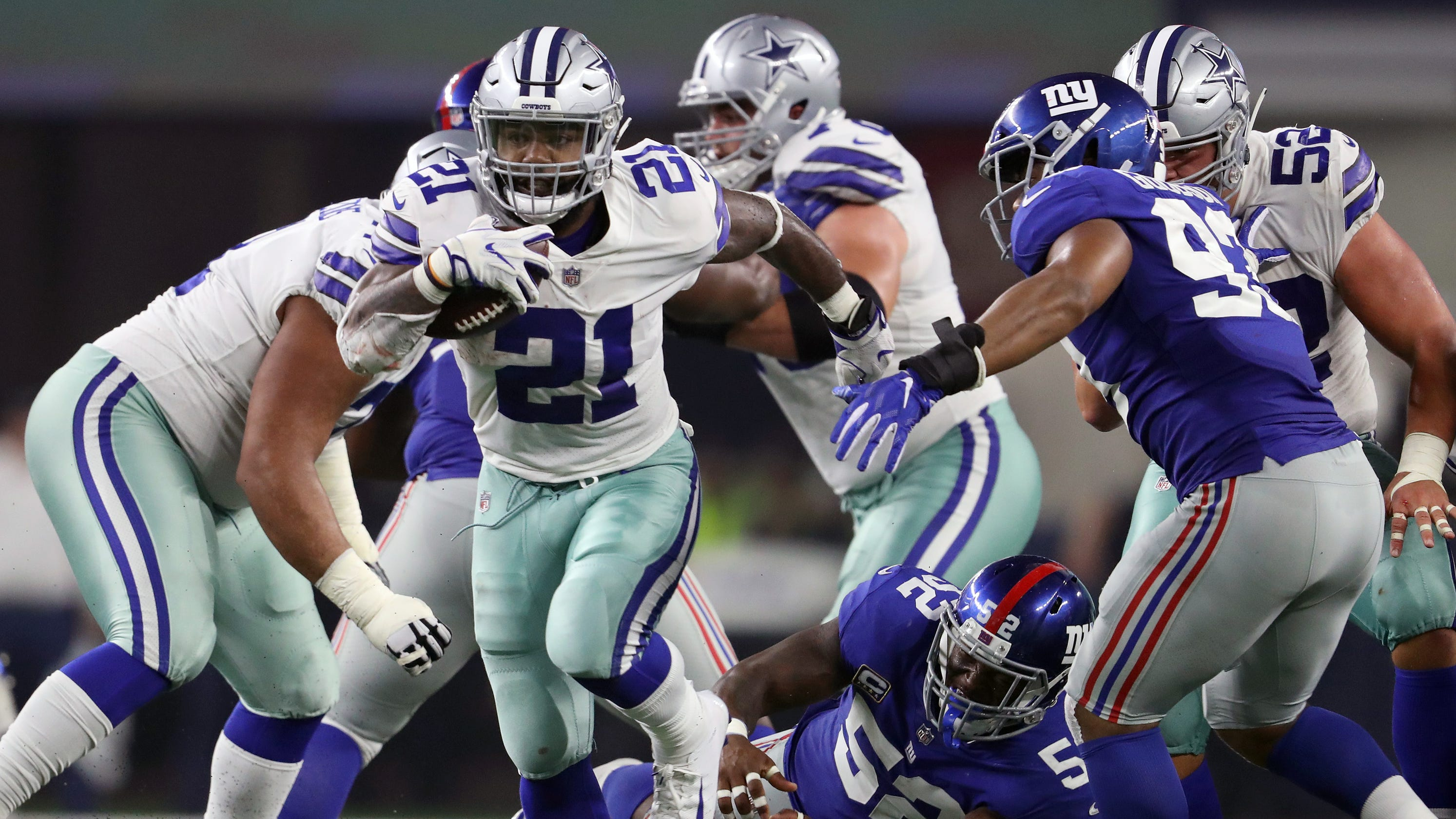 How Cowboys are preparing for Ezekiel Elliott's potential Week 1 absence vs. Giants