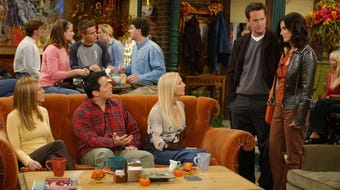 A temporary 'Friends' exhibit and gift shop  in NYC celebrates the 25th anniversary of the popular tv show.