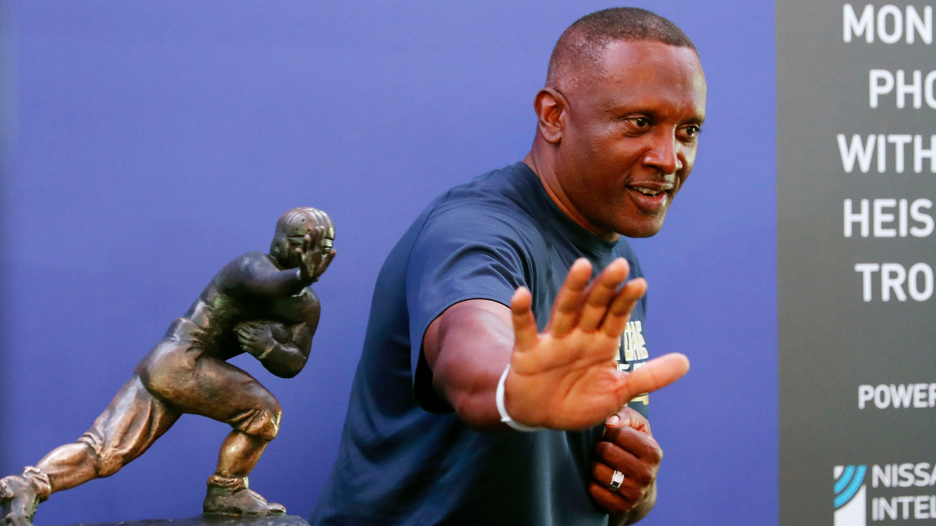 Notre Dame icon Tim Brown reflects on career and Fighting